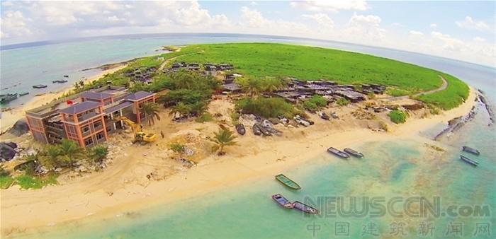 南沙群岛最新填海囹�a_在南沙群岛诸岛礁的填海工程紧锣密鼓进行的同时,西沙群岛的基础设施